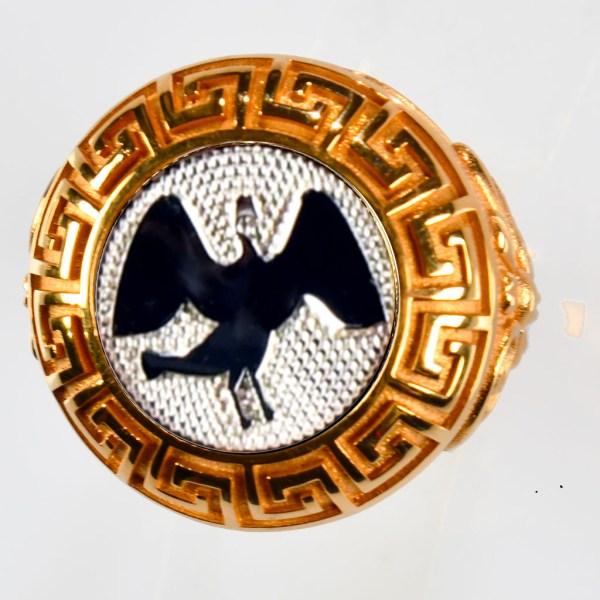 anello rosso cigno bianco