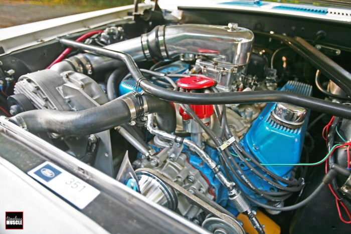 This homegrown Mustang is packing a .030-over 351C, a Powerdyne blower and plenty of bolt-ons! Not bad for a cruiser...