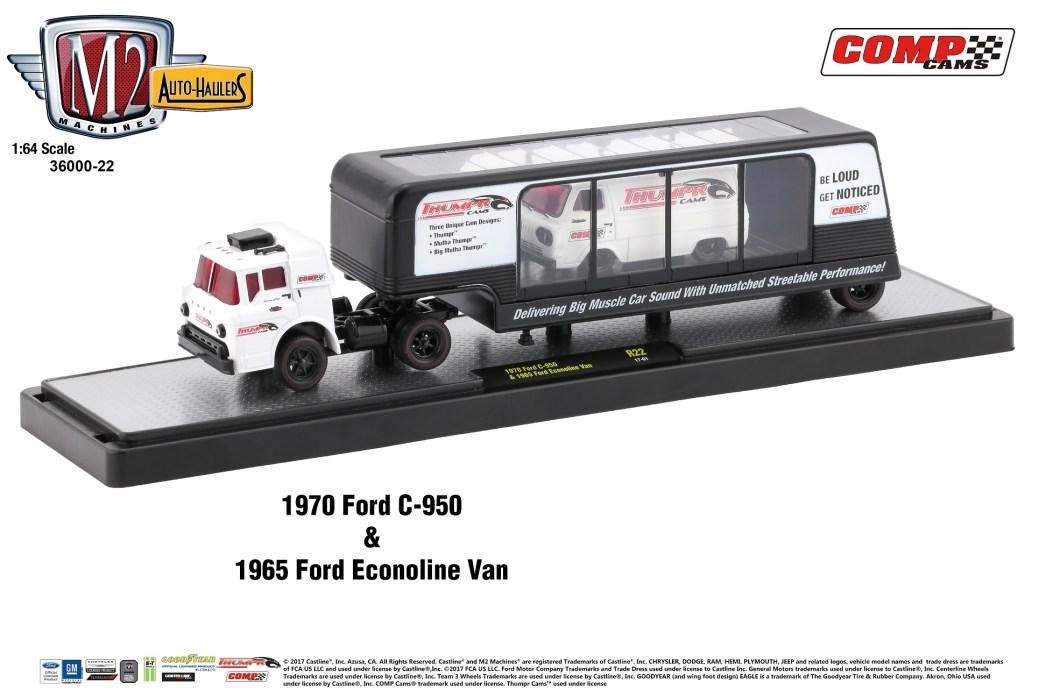 36000-22 1970 Ford C-950 & 1965 Ford Econoline Van