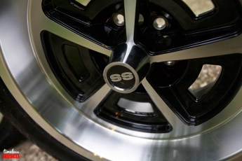 Just about every detail of the factory wheel has been implement into the styling of YearOne's retro line of wheels.