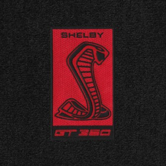 Lloyd Mats Adds New Gt350 Logos To Its Full Line Of Shelby Licensed Floor Mats - Shelby Sidemarker Red 2015 - ON