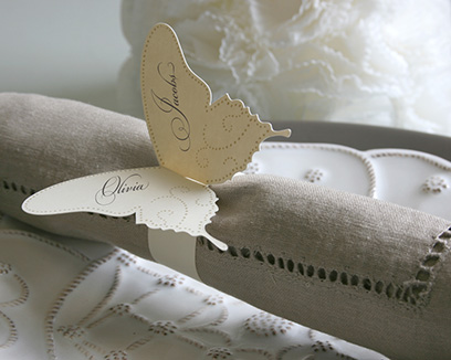 Butterfly Napkin Rings