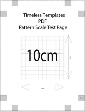 how to print pdf patterns at home