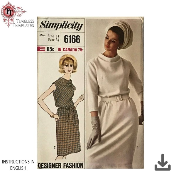 simplicity 6616 1960 sewing pattern