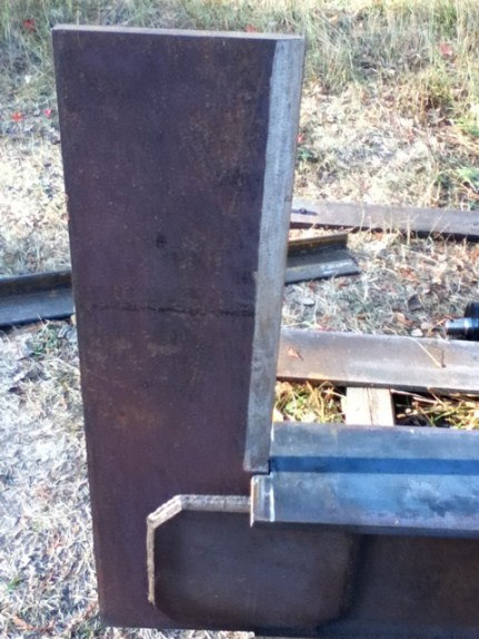 A look at the new firewood splitter making optimum use of the waste wood