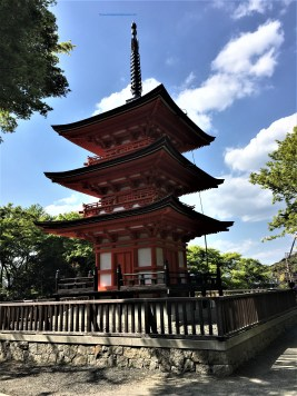 Kiyomizu Dera Temple:, Kyoto: Koyasu Pagoda - The place couples or women go to so they are blessed with easy and safe childbirth.