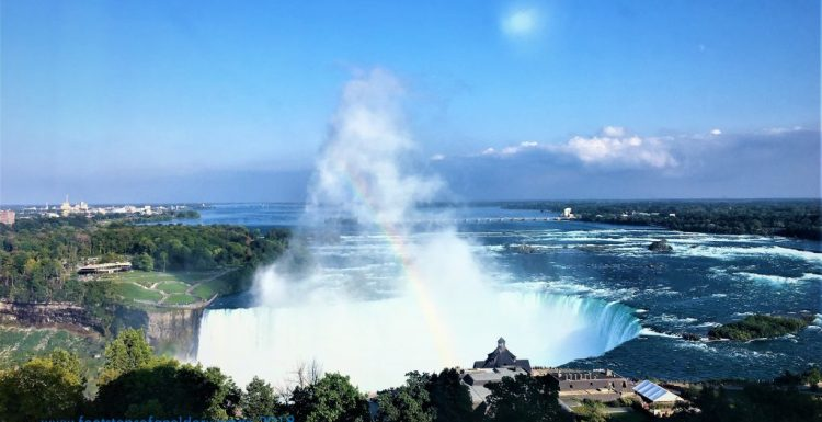 The Horseshoe Falls_view from our hotel room.