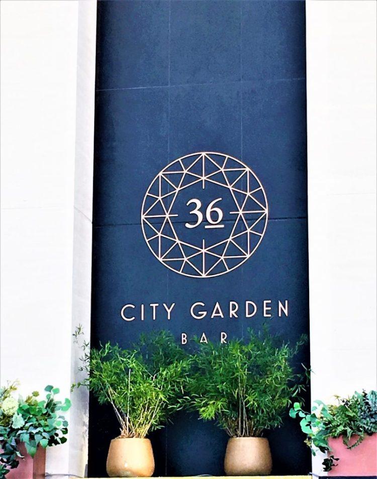 City Garden Bar on the 36th Floor