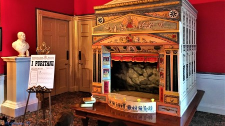Kensington Palace: A Royal Childhood - The Theatre Room where Victoria visited to escape the Kensington System