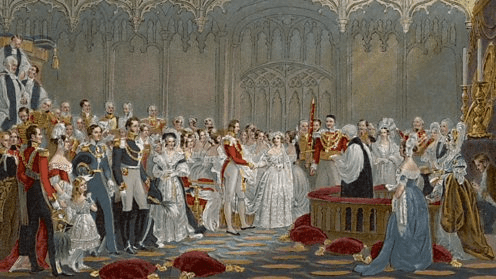 Queen Victoria's Wedding to Prince Albert