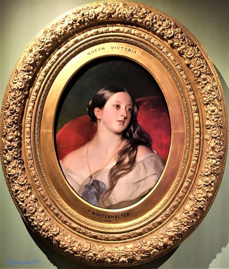 A private portrait of Queen Victoria
