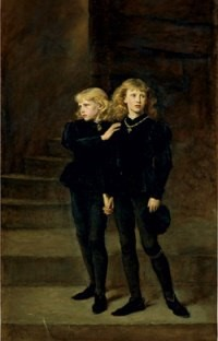 The two Princes - Edward and Richard