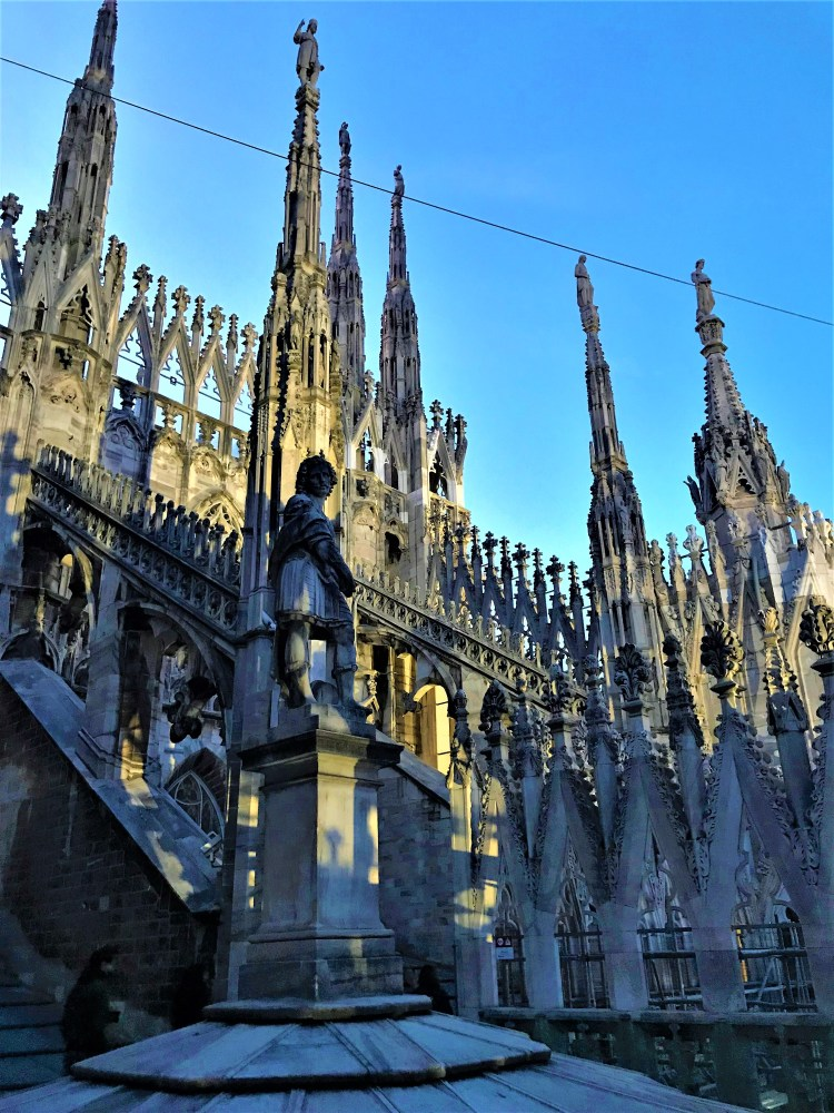 Best of Milan - Sunset on the rooftop of the Duomo