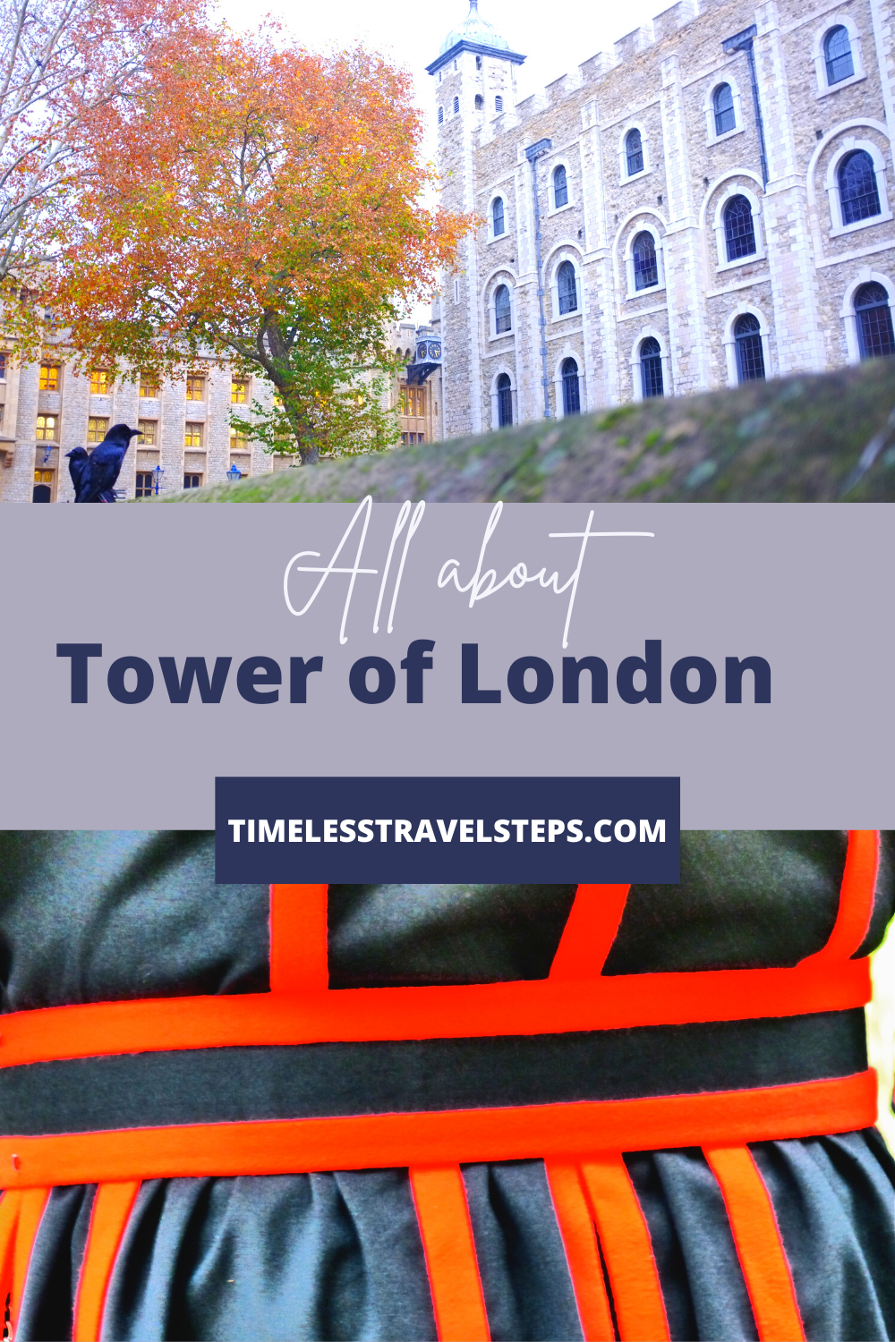 A detailed travel guide offering a comprehensive list of the best of what you need to know about the iconic Tower of London, London, England. via @GGeorgina_mytimelessfootsteps/