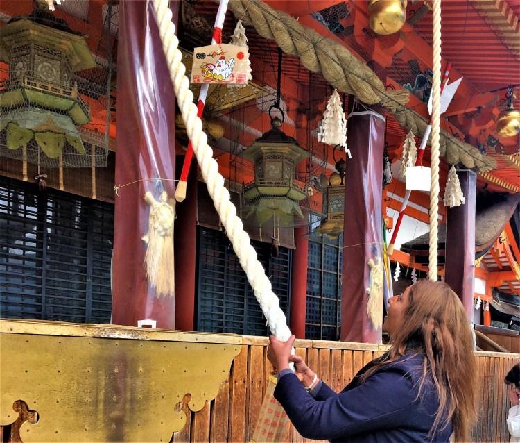 Etiquette at a Shinto shrine