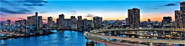 Odaiba.rainbow.bridge. | how to make the best of 3 days in Tokyo