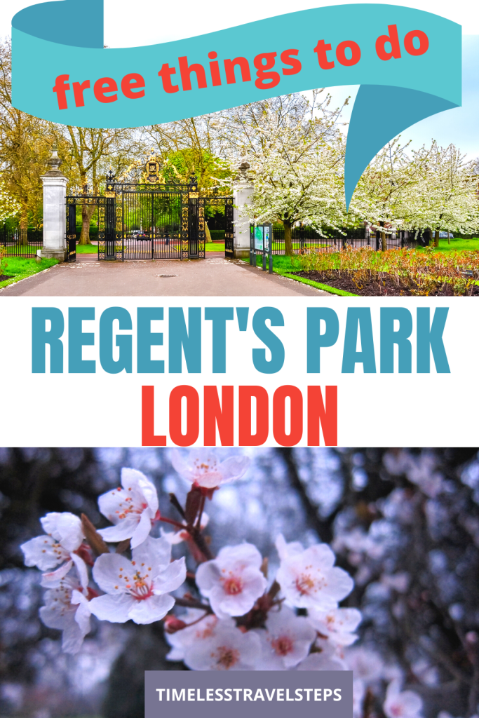 Why Regent's Park is the #1 garden with a total zen