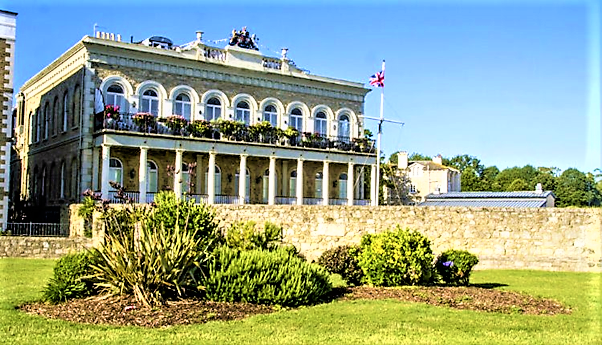 Prince Consort building Isle of Wight