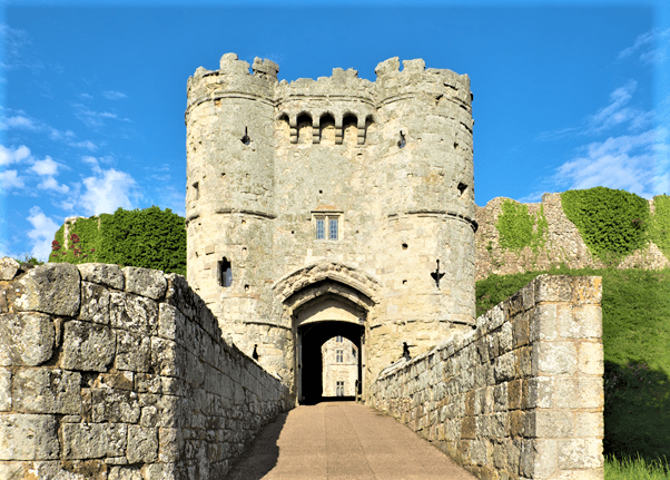 Carisbrooke Castle Newport Isle of Wight Victorian love affair experience