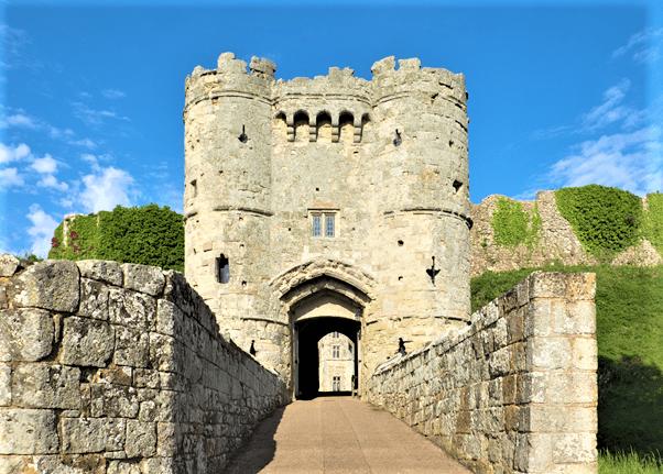 Carisbrooke Castle Newport Isle of Wight Victorian love affair experience