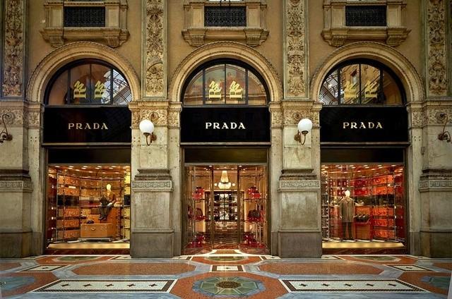 Prada at Galleria Vittorio Emanuele II