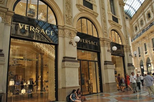 Versace at Galleria Vittorio Emanuele II