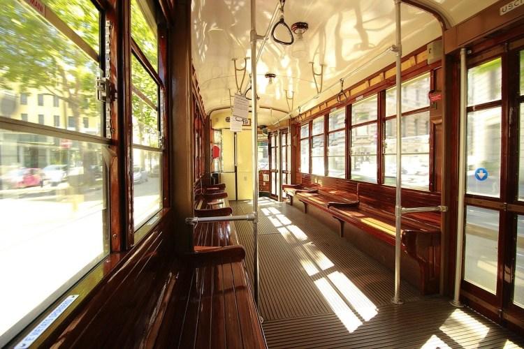 Historic tram - Milan bucketlist