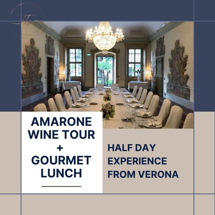 From Verona Amarone wine tour and lunch