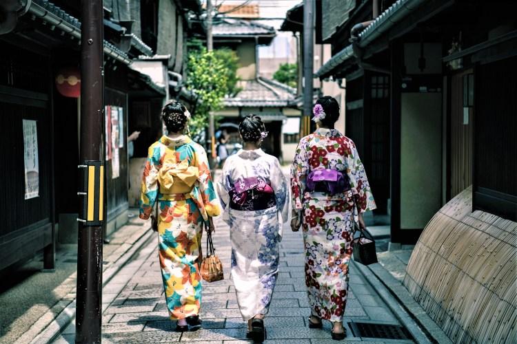 women in kimono | Japan