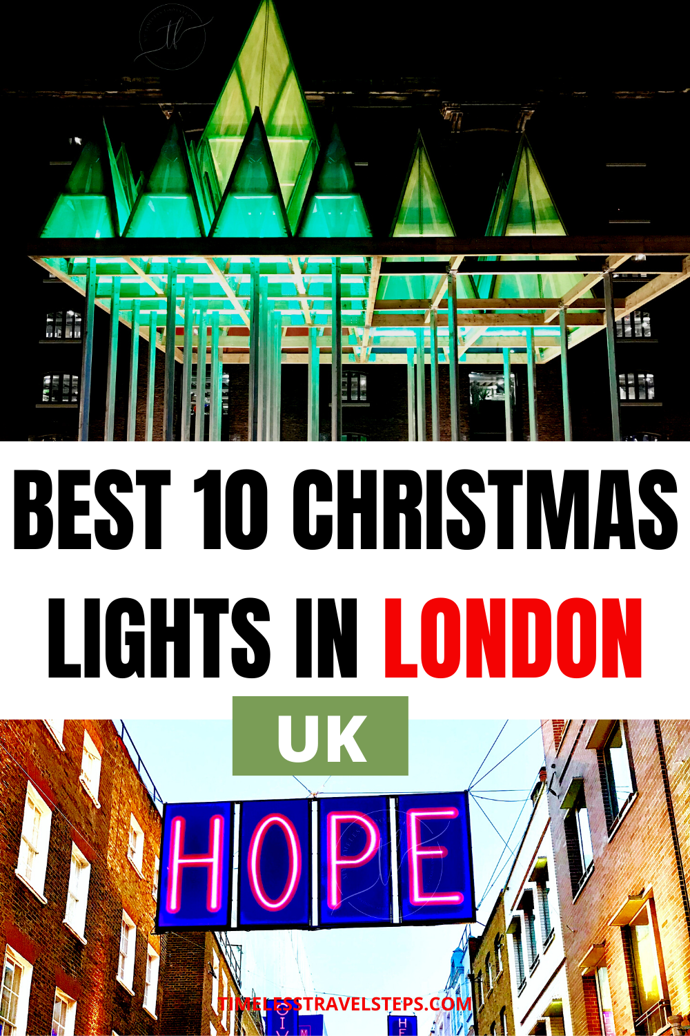 The Best of the Best Dazzling Christmas Lights in London to add to the festive cheer in this grand City | London at Christmas | Festive Lights in London | Christmas Lights | London City Guide | Where to See London Christmas Lights | Places for the best Christmas Lights via @GGeorgina_timelesstravelsteps/