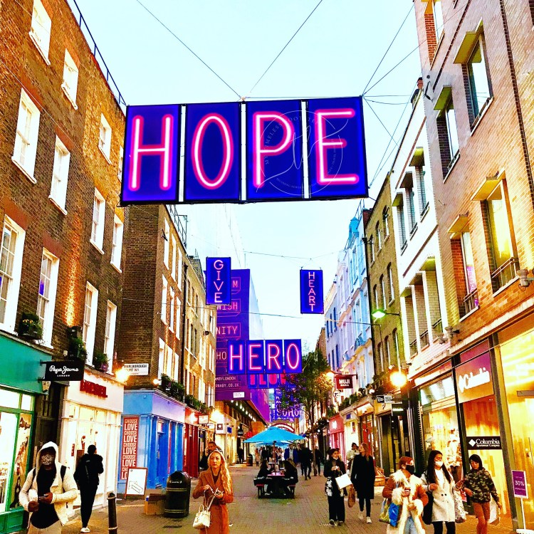 Carnaby Street | London's Christmas Lights 2020