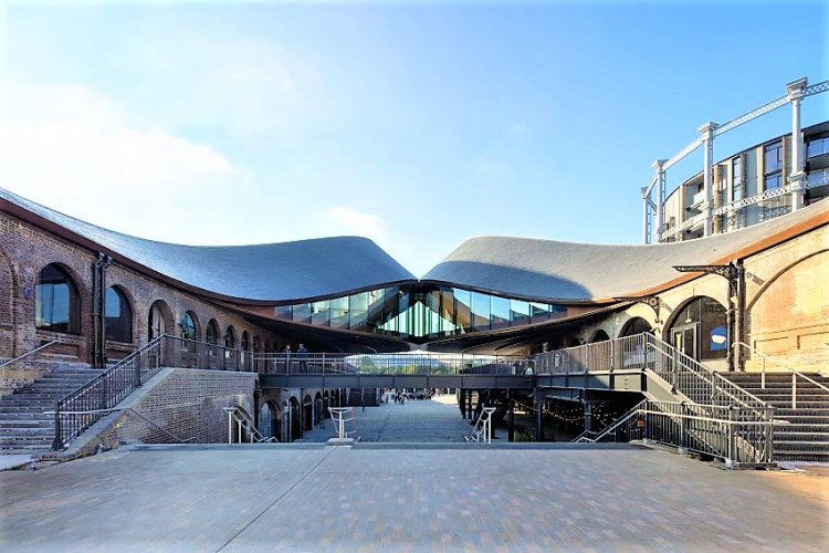 Coal Drops Yard at Christmas