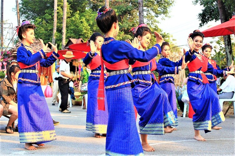 Exotic Asia.Thailand cultural dance
