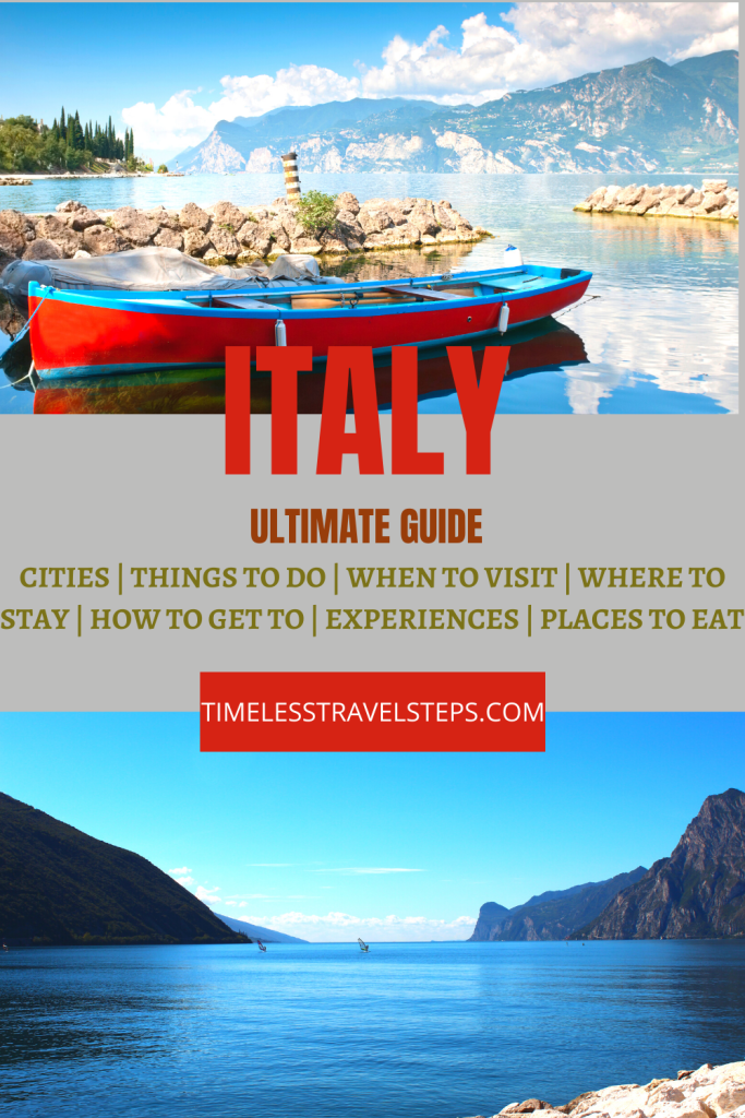 Italy | A Complete One-Stop Resource for Travellers Pin
