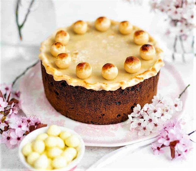 presently march 2021 simnel easter cake
