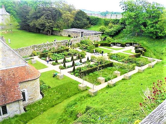 Princess Beatrice Garden | Things to do at Carisbrooke Castle