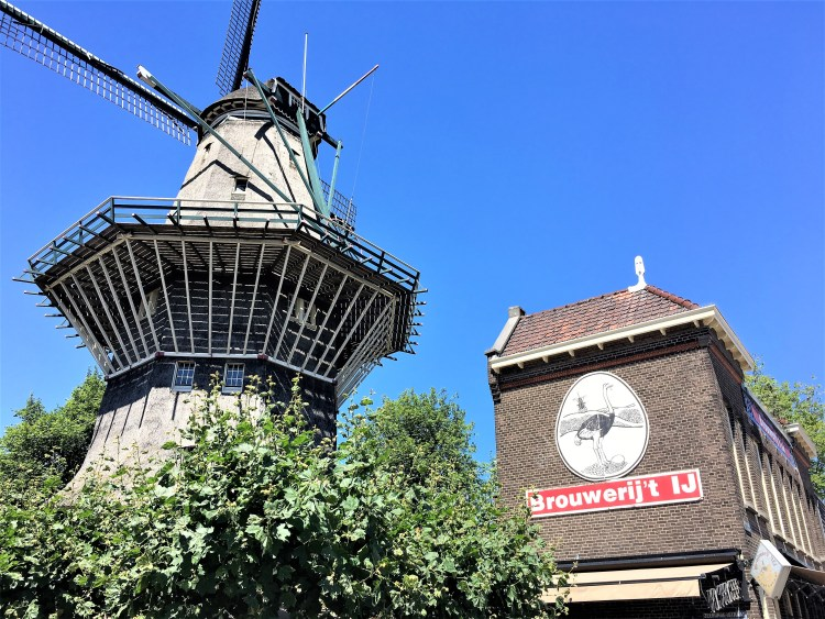 Brouwerij 't IJ right next to De Gooyer  | Thingd to do in Amsterdam
