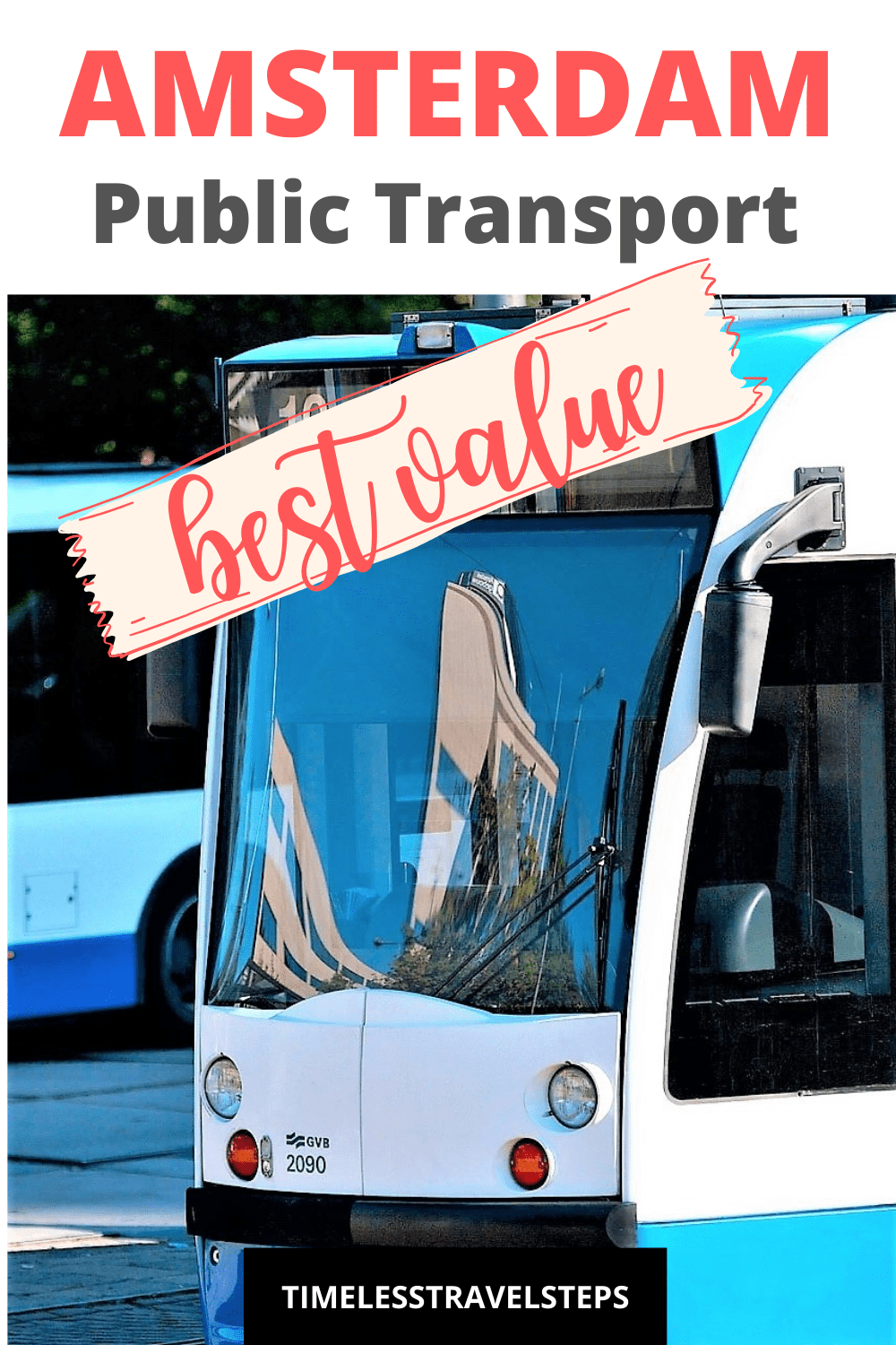Pre-order your best value public transport ticket for Amsterdam before you leave home to avoid stress and to save time | Public transportation in Amsterdam | GVB transport in Amsterdam | How to get around Amsterdam | Buses in Amsterdam | Trams in Amsterdam | Metro in Amsterdam | Visit Amsterdam | Iamsterdam Card | Best value in transportation tickets in Amsterdam. via @GGeorgina_timelesstravelsteps/