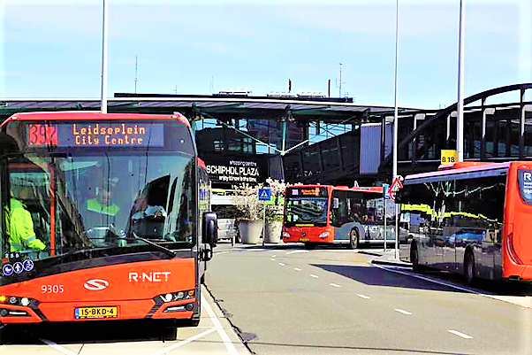 public transport for amsterdam.airport shuttle #397 | Return Trip Ticket on Amsterdam Airport Express Bus 397