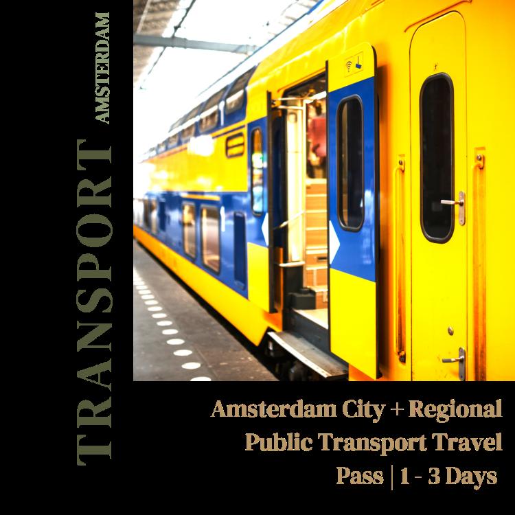 Amsterdam City and Regional Public Transport Travel Pass