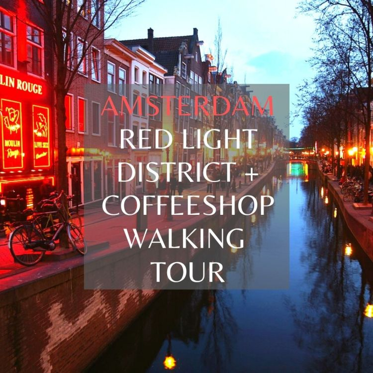 Red light district and coffeeshop walking tours in Amsterdam