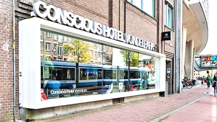 Amsterdam.conscious.hotel.Vondelpark.responsible tourism in Amsterdam