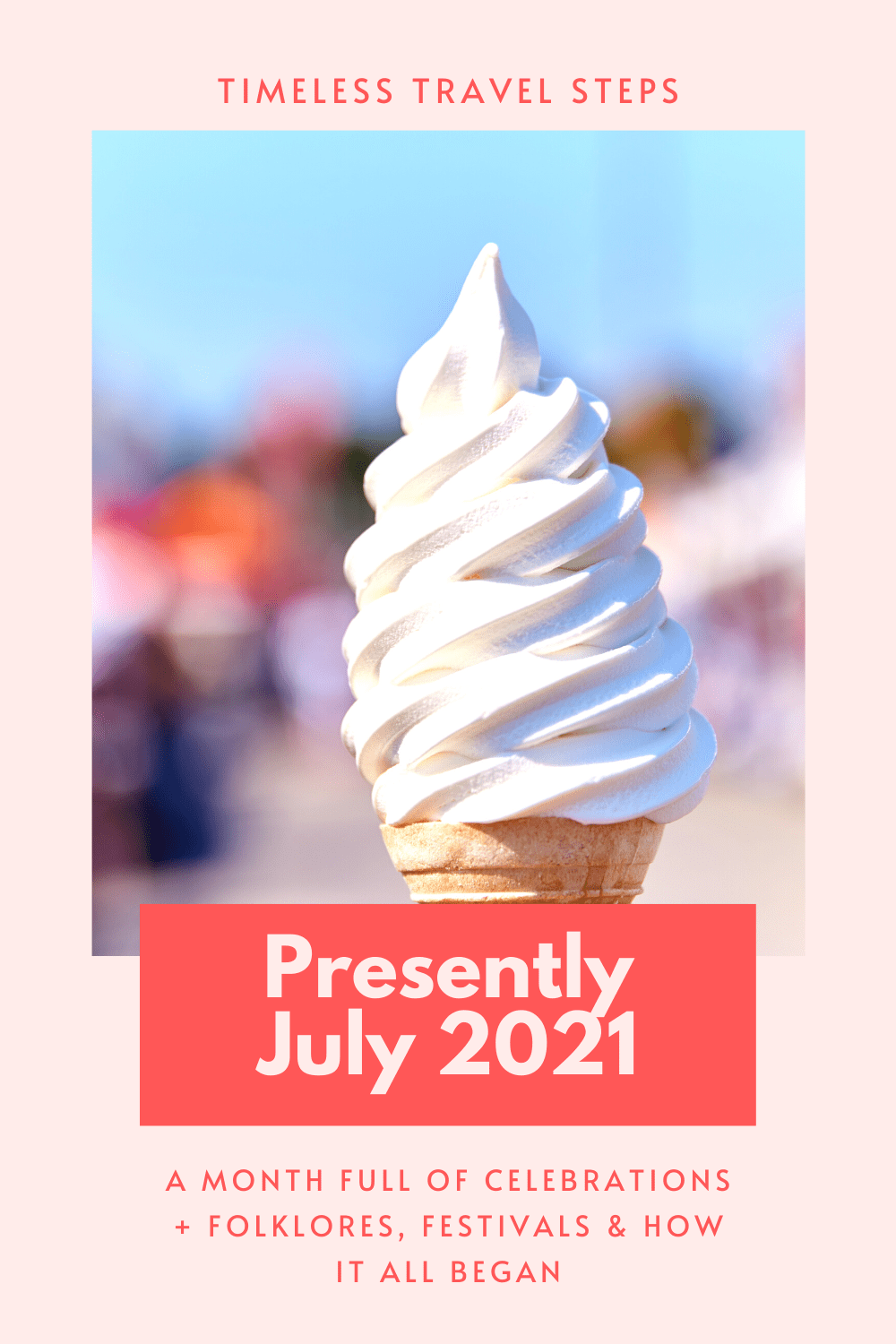 Month of July | Why is July important | What is special about July | Origins of July | July birthstone | July birth flower | Water lily | Presently July 2021 | Celebrations in July | National Picnic Month | Ice Cream Day | Haymaking in July | Ruby July birthstone | Pems of July | Folklores of July | Festivals in July | Henley Royal Regatta | World Chocolate Day | 4th July American Independence Day | Canada Day | St Swithins Day | Whitstable Oyster Festival | Larkspur | Julius Caesar | Gregorian Calendar via @GGeorgina_timelesstravelsteps/