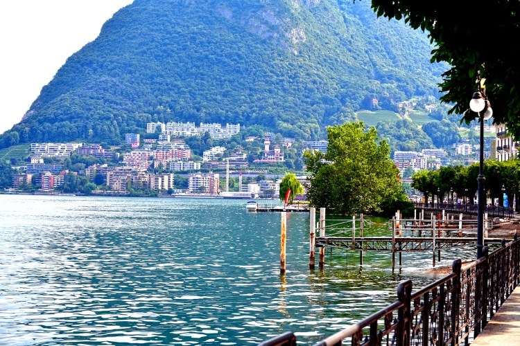 Lugano, Italy day trips from Milan
