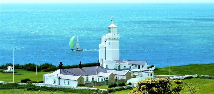 st katherine's lighthouse - haunted places on the isle of wight