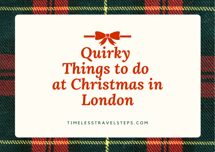 quirky things to do at Christmas