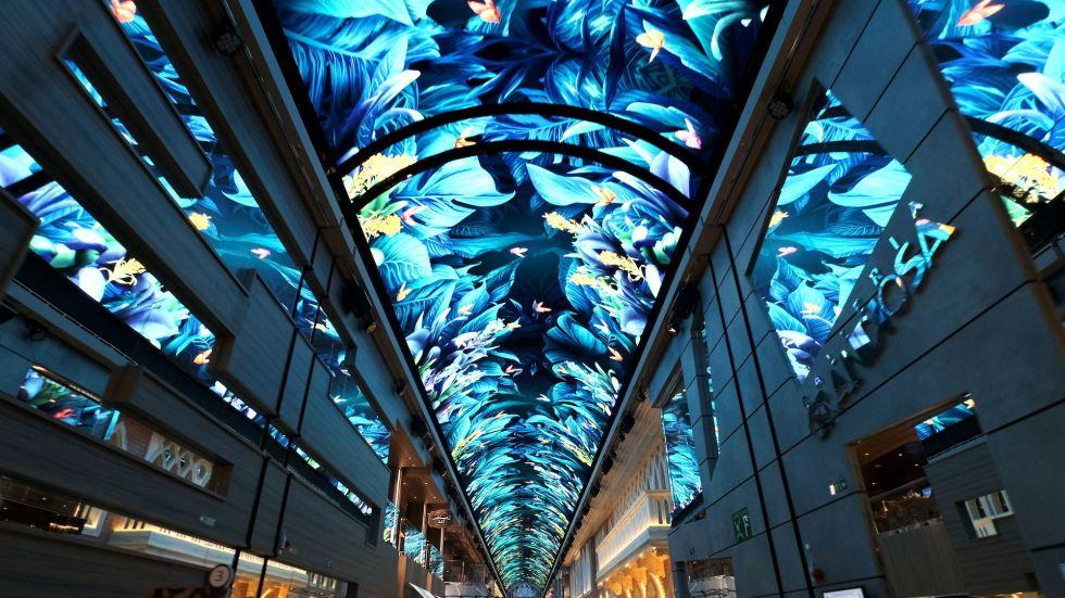Изогнутый светодиодный для потолка Samsung