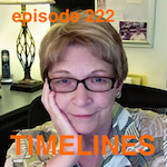 Laura Belgrave with Bill Conrad on Timelines