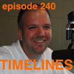 Marty McDonald with Bill Conrad on Timelines