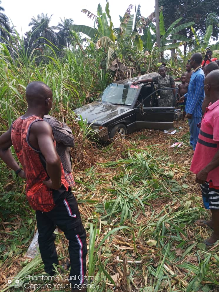 Pastor and wife survive accident